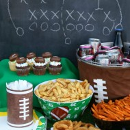 Easy Football Party Food (+ Honey Mustard Dip Recipe)