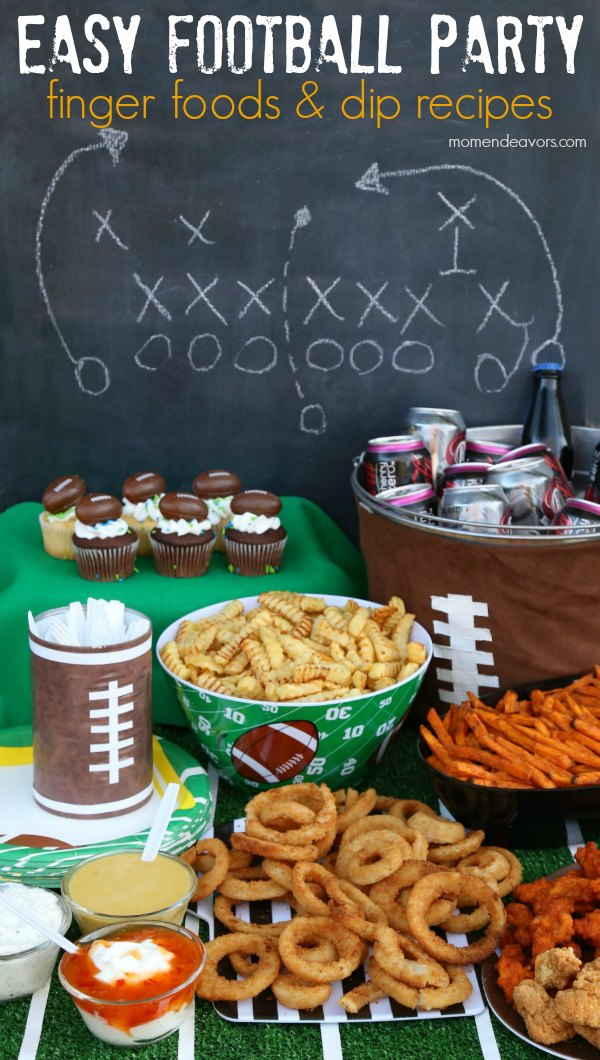 Football Party Food Recipe Ideas