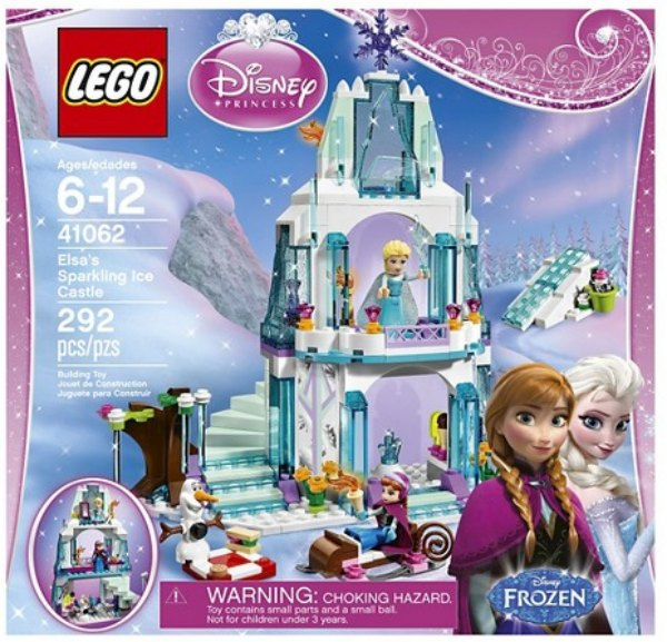 LEGO Disney Frozen Castle Set
