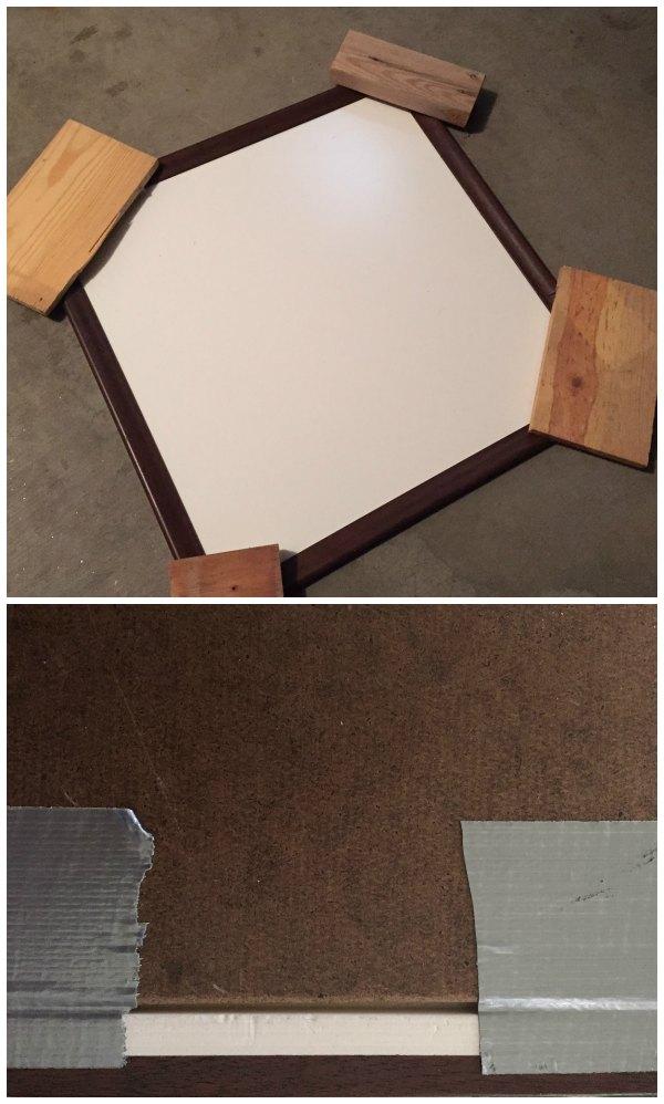 Makign a custom white board