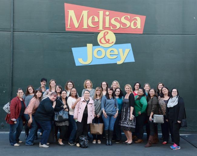 Melissa & Joey Set Visit