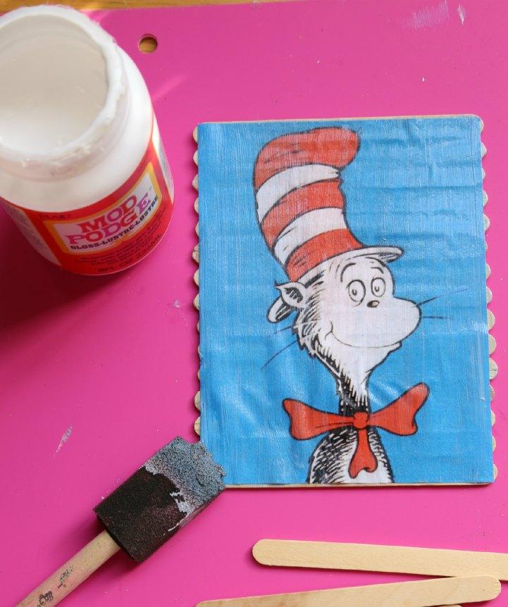 Mod Podge Dr. Seuss Puzzle