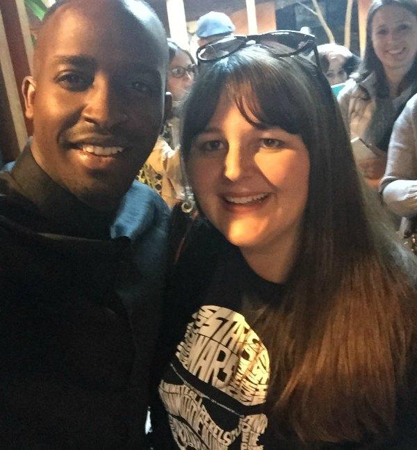 Selfie with Elijah Kelley