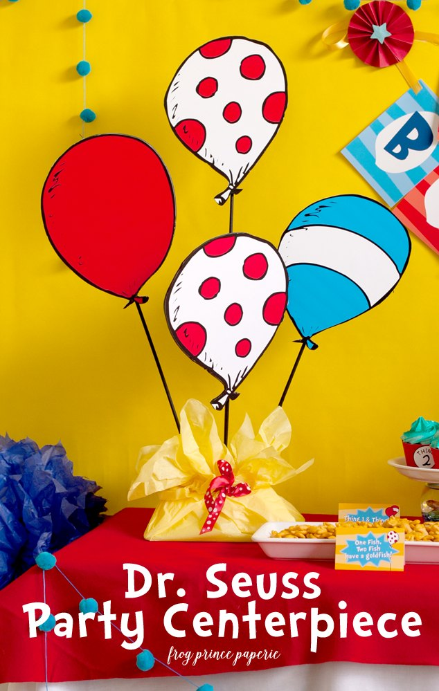 Seuss Party Centerpiece