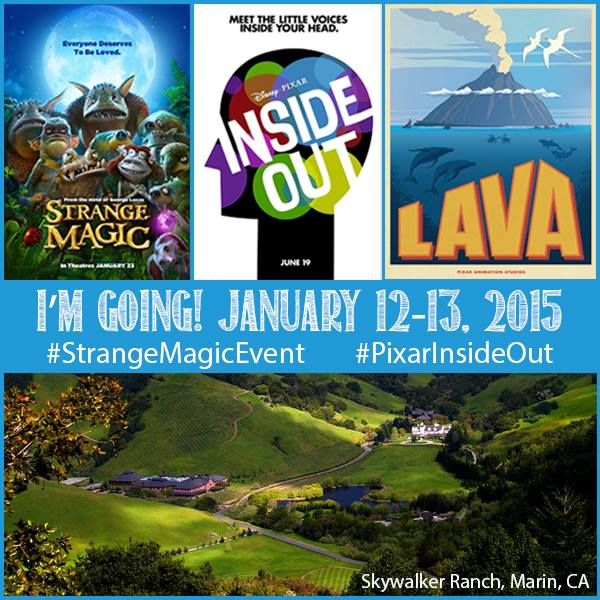 Skywalker Ranch #StrangeMagicEvent