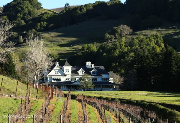 Skywalker Ranch Vineyard & Main House