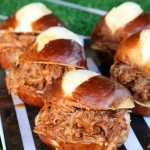 Slow Cooker Dr Pepper Pulled Pork Sliders