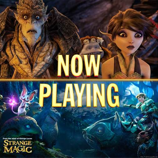 Strange Magic in Theaters