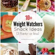Homemade Weight Watchers Snack Recipes