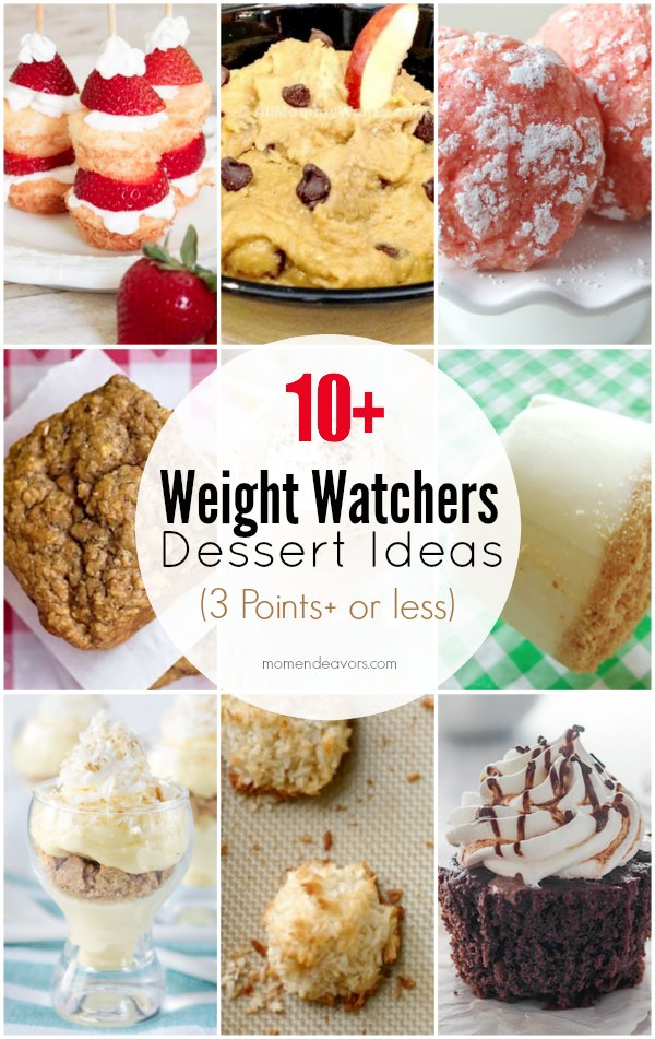 10+ Weight Watchers Dessert Ideas