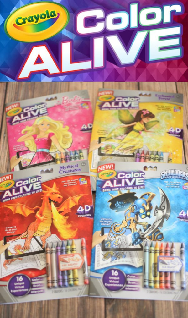 crayola color alive coloring books - Color Alive Coloring Book