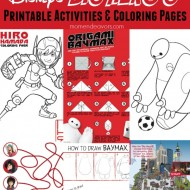 Disney's Big Hero 6 Printable Activity Sheets & Coloring Pages