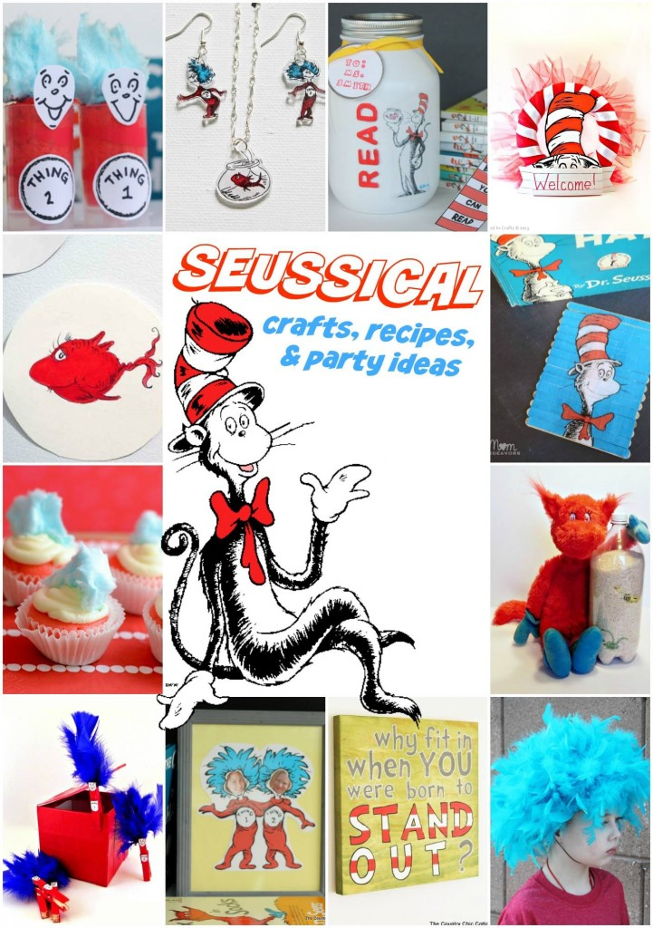 Dr. Seuss Crafts & Recipe Ideas