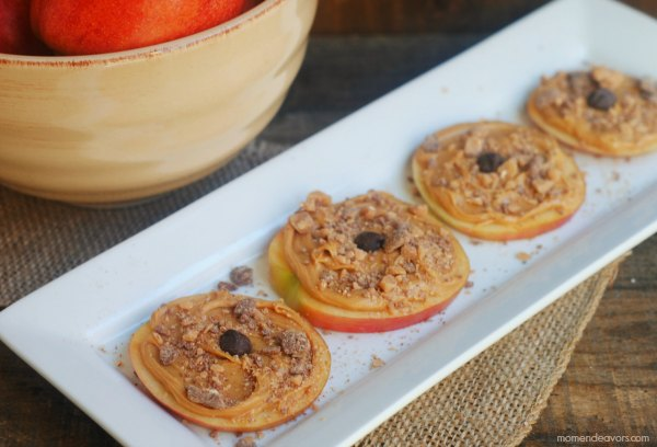 Peanut Butter Apple Rings