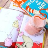 Dr. Seuss Fun Food Recipe: Healthy Pink Ink Drink