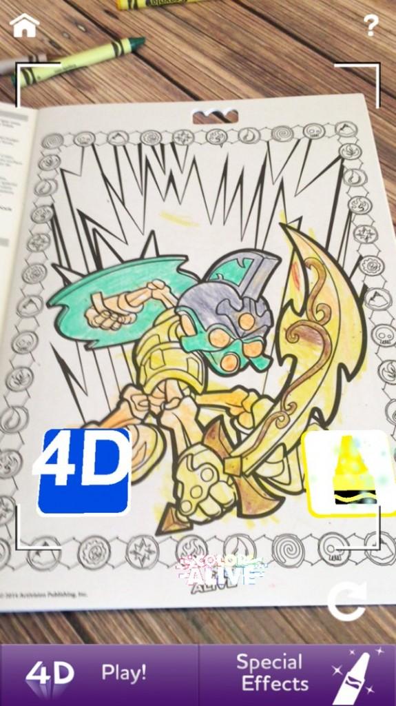 Crayola Color Alive Special Pages