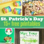 15+ St. Patrick's Day Printables