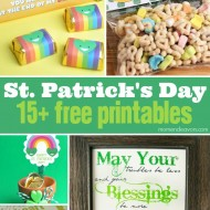 15+ St. Patrick's Day Free Printables