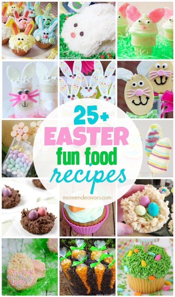 25 Easter Fun Food Dessert Recipes