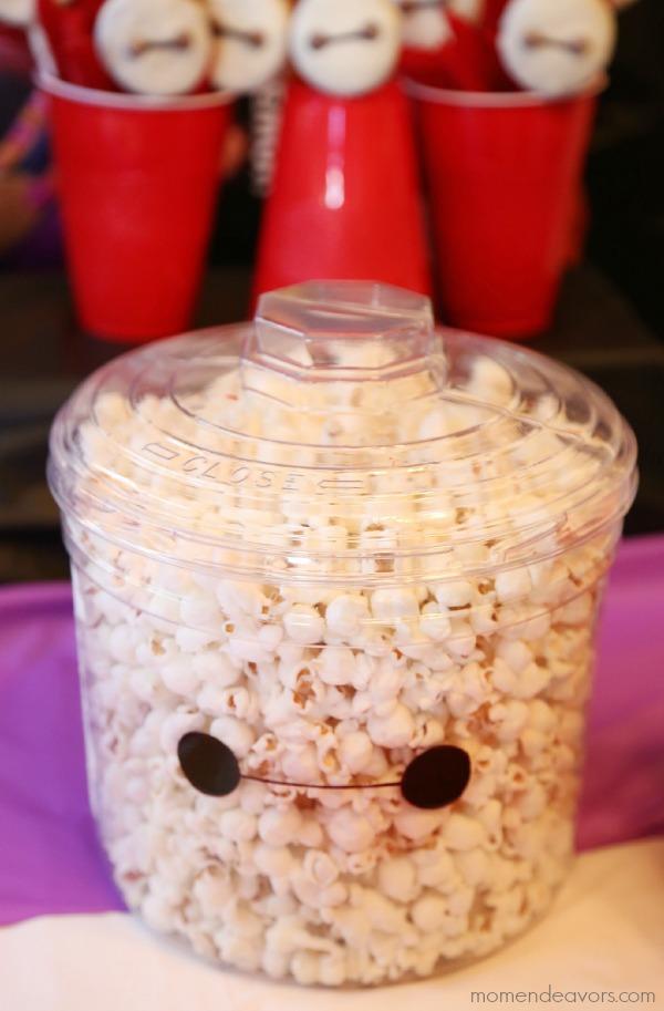 Baymax Popcorn