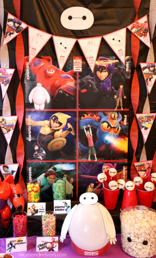 Big Hero 6 Party Decor