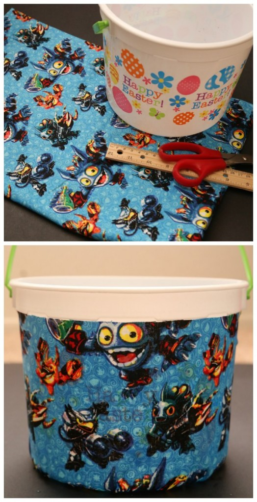 DIY Skylanders Fabric Basket