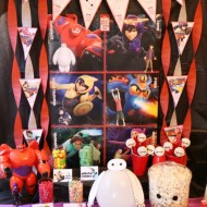 Disney Big Hero 6 Party {Decor, Food, & Activity Ideas}