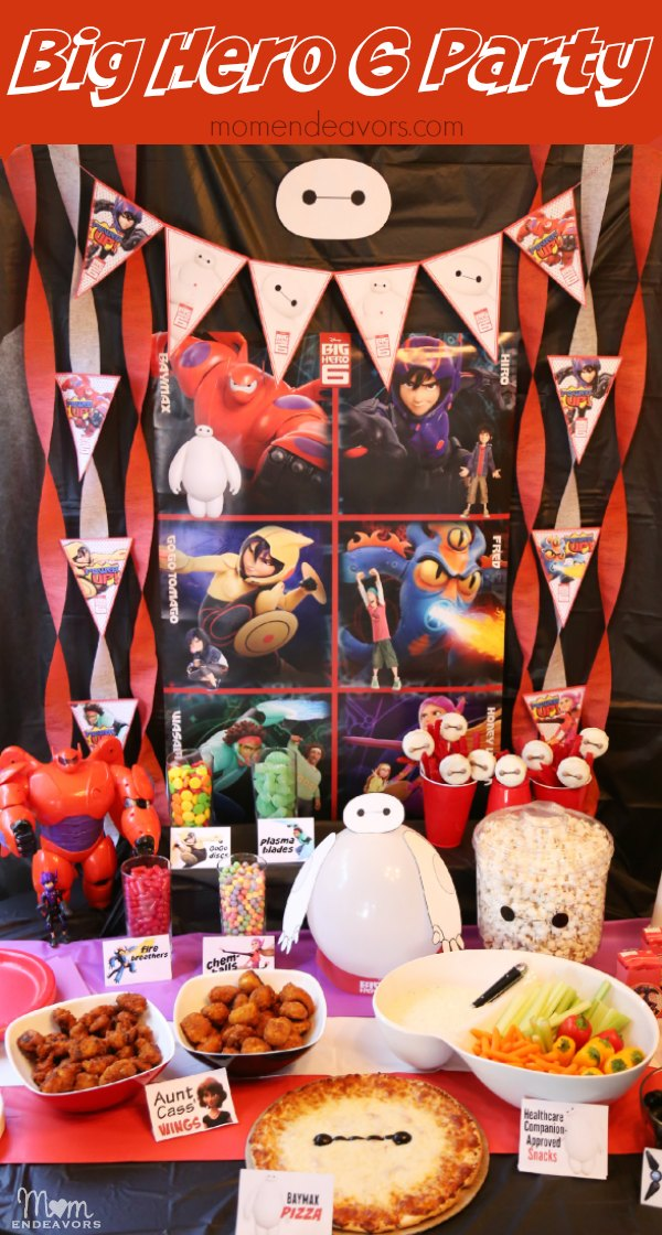 Disney Big Hero 6 Party
