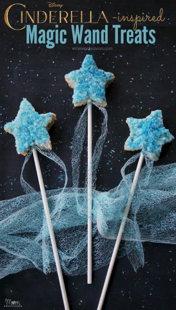 Disney Cinderella Magic Wand Rice Krispies Treats