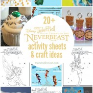 Disney's Tinker Bell and the Legend of the NeverBeast: 20+ Activity Sheets & Crafts