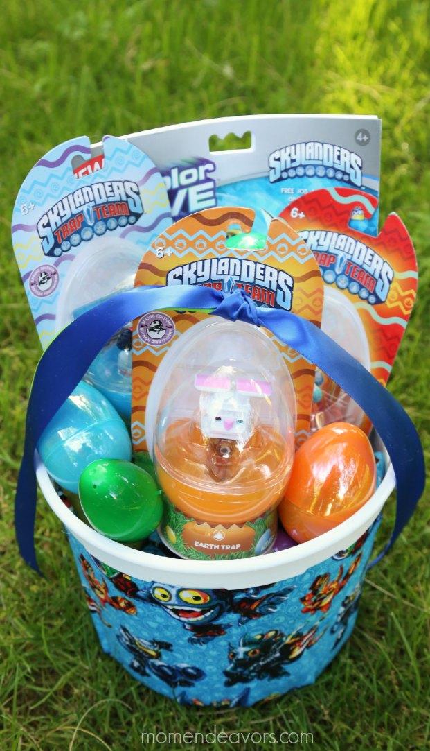 #EggsellentSkylanders Easter Basket