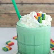 St. Patrick's Day Treat – Homemade Shamrock Shake Recipe