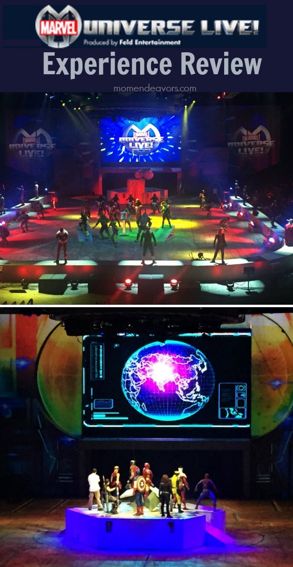 Marvel Universe Live Show Review