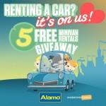 Minivan Car Rental Giveaway