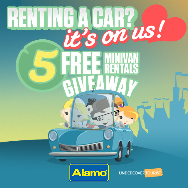 Minivan Car Rental Giveaway