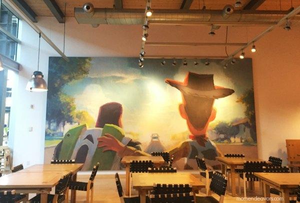 Pixar Studios Toy Story Art