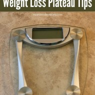 When the scale stops moving…Weight Loss Plateau Tips