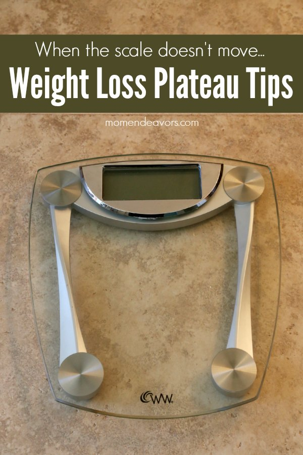 Wieght Loss Plateau Tips