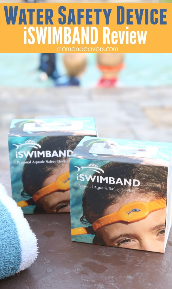 iSWIMBAND Water Safety Device Review