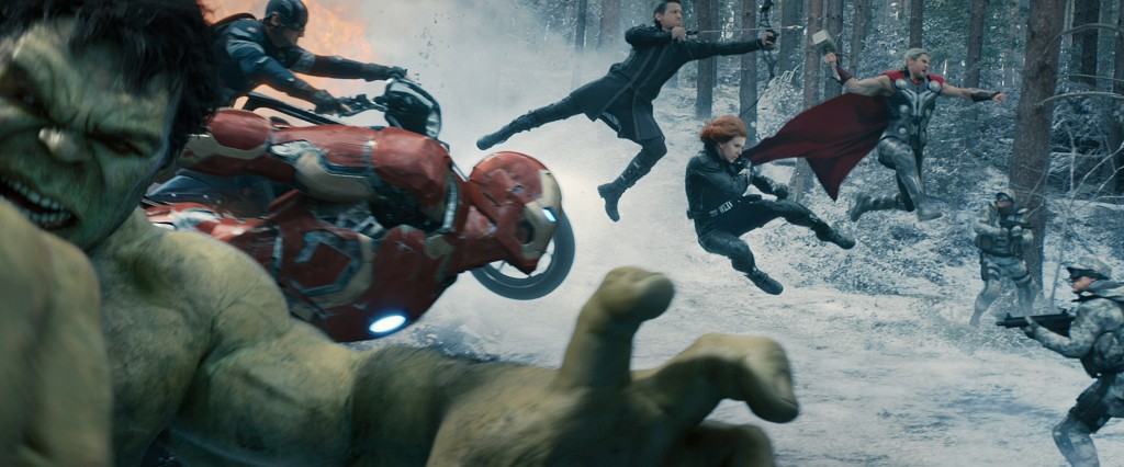 Avengers Age of Ultron Fight Scene