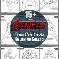 Avengers: Age of Ultron FREE Printable Superhero Coloring Sheets