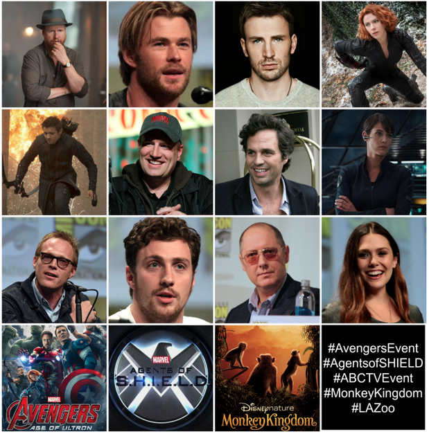 Avenger Age of Ultron Cast Interview Avengers Age of Ultron