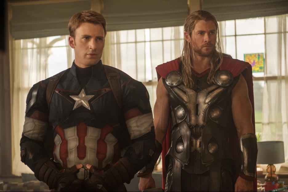 Avengers Captain America & Thor