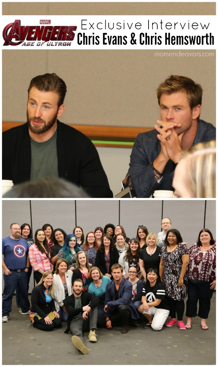 Avengers Interview Chris Evans & Chris Hemsworth