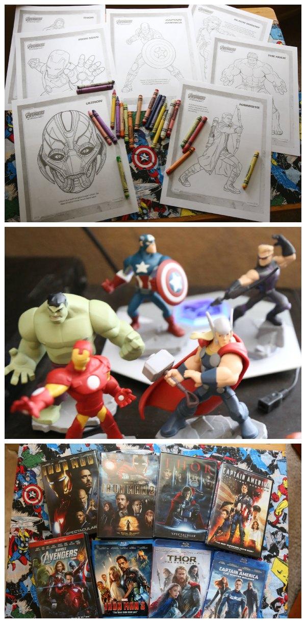Avengers Movie Night Activities