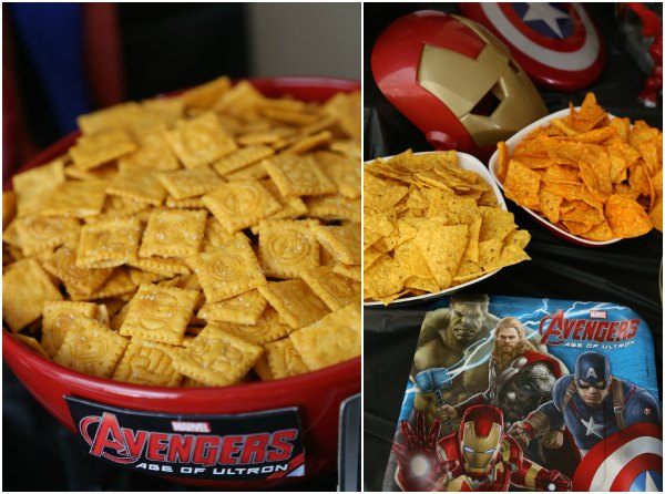 Avengers Movie Snacks