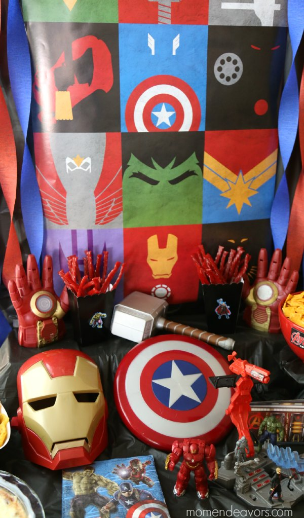 Avengers party superhero activities amp fun food ideas