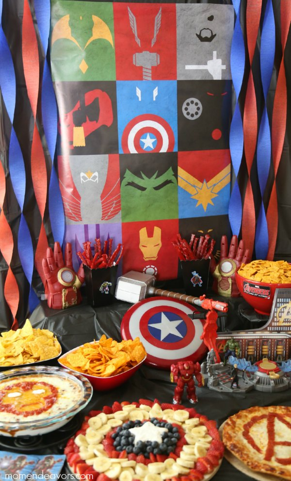 Avengers Party Decor