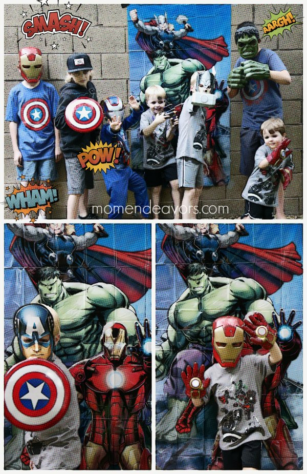 Avengers Party Photo Booth