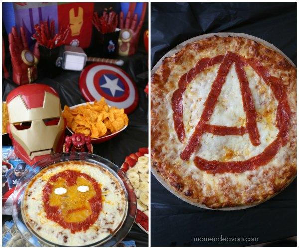 Avengers Pizza & Dip
